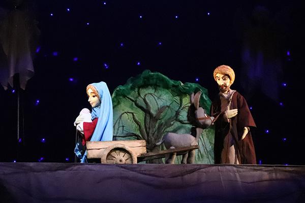 """Представители благочиния посетитили пробный показ спектакля """"Дорога в Вифлеем"""""""
