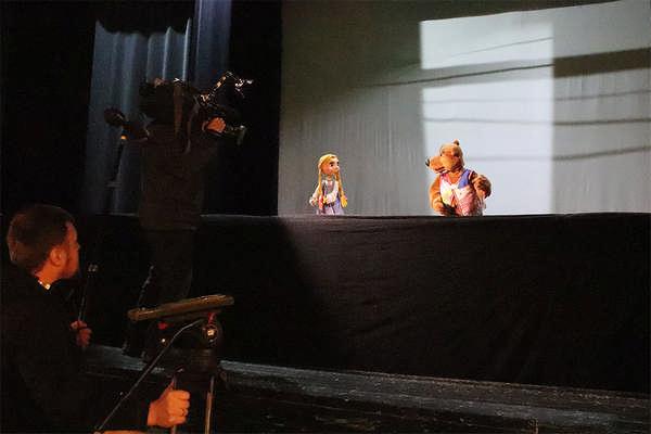 Столичное телевидение в Театре кукол