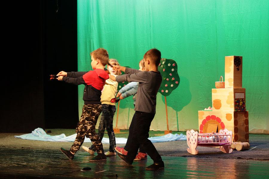 Репетиции первого потока фестиваля-конкурса «Театральные таланты»